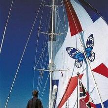 Blue Papillon Yacht