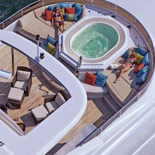 BB Yacht Aerial View - Jacuzzi