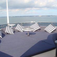 The Devocean Yacht Flybridge Seating
