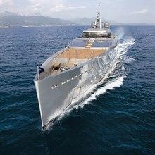 Exuma Yacht Aerial View