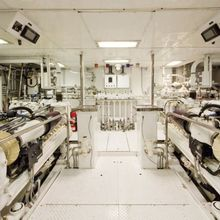 Chosen One Yacht Engine Room