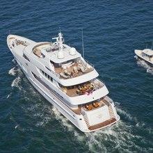 BB Yacht Aerial Rear View