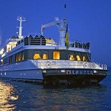 FAM Yacht Stern - Night