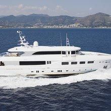 Ulysses Yacht Side Profile