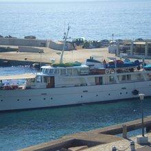 Midnight Sun of St Peter Port Yacht