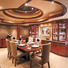 Risk & Reward Yacht Dining Salon