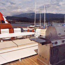 Taconite Yacht BBQ on Deck
