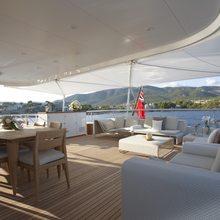 Megan Yacht On Deck Dining