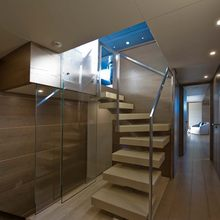 Bliss Easy Yacht Stairway