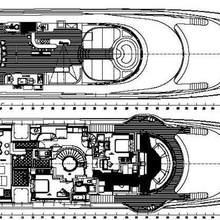 Australia Yacht Deck Plans