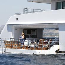 Pegasus VIII Yacht Extended Balcony