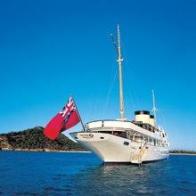 Talitha Yacht Stern