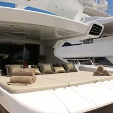 Voyage Yacht Aft Sunbathing