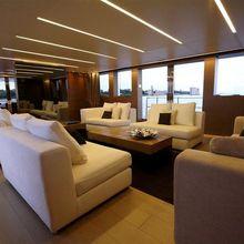 Bliss Easy Yacht Main Saloon - Looking FOrward
