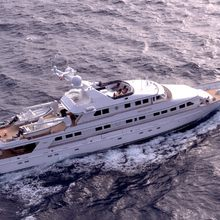 Constance Yacht Aerial View