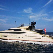 Hokulani Yacht Side View