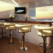Reef Chief Yacht Exterior Bar