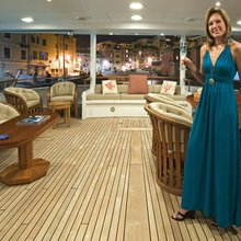 Constance Yacht Outdoor Deck Space