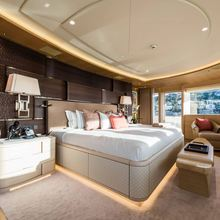 Here Comes The Sun Yacht Master Stateroom