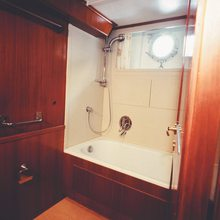 Blue Gold Yacht Guest Shower Room