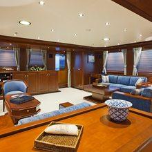 Sea Eagle Yacht Main Salon