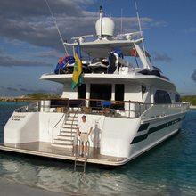 Caprice Yacht Stern