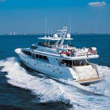 Risk & Reward Yacht Running Shot - Rear View