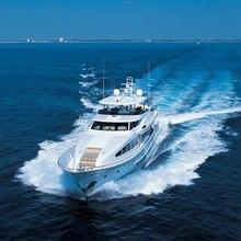 Risk & Reward Yacht Running Shot - Front View