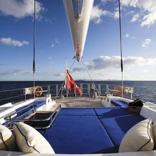 Ethereal Yacht Deck Lounging