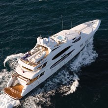 Reef Chief Yacht Aerial View