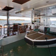 Pegasus VIII Yacht Tender Stored