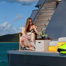 Exuma Yacht Swimming Platform