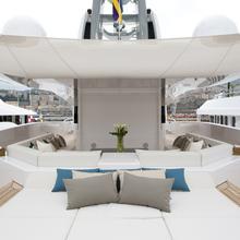 Mogambo Yacht Sundeck - Sun Pads