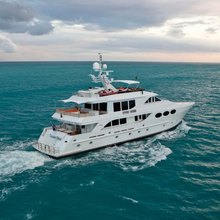 Chosen One Yacht Running Shot