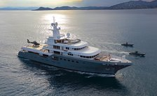 Yacht from TENET movie is revealed as $101m superyacht 'Planet Nine'