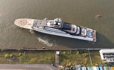 VIDEO: Lurssen's 142m megayacht NORD (Project Opus) floats out again
