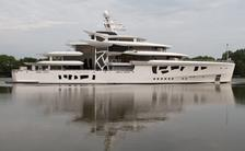 80m superyacht ARTEFACT delivered by Nobiskrug
