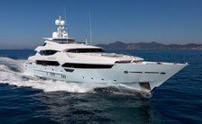 West Mediterranean yacht charter special offer with 47m superyacht ARADOS