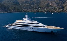 MADSUMMER yacht in the Mediterranean