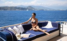 Special 'No rain guarantee' offer on Mediterranean yacht charters with M/Y 'Lady Amanda'