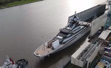 Video: Lurssen floats 142m megayacht NORD for second time
