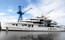 Nobiskrug launches 80m superyacht ARTEFACT