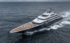 111m superyacht TIS: 33rd largest yacht in the world now for charter