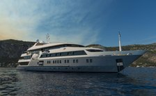 72m SERENITY available for yacht charter in iconic Red Sea