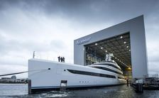 Feadship 88m superyacht 'Project 816' breaks cover