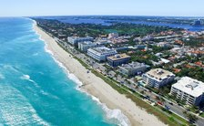 Birds eye view of Palm Beach, Florida