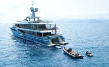 amels charter yacht galene