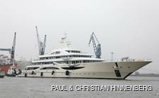 TIS repainted beige hull