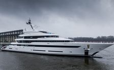 In pictures: Lurssen launches 87m superyacht 'Project Hawaii'