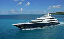 78m luxury yacht AMARYLLIS available for one-of-a-kind private yacht charter in the UK this summer